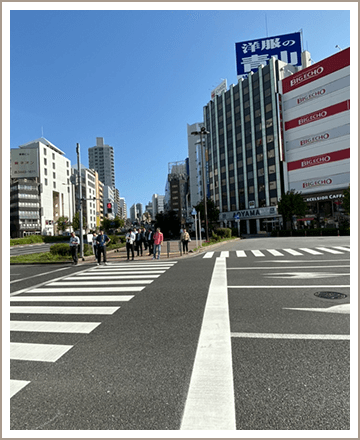 五反田ルームまでの道順2