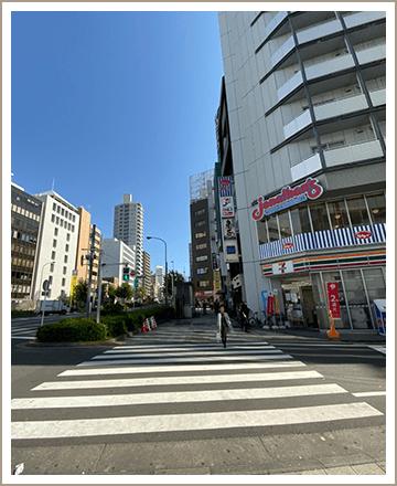 五反田ルームまでの道順3